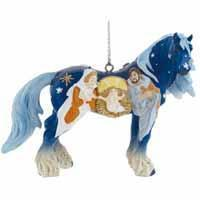 Buy cheap Horse of a Different Color Holiday 2015 Nativity 2.75 Ornament with Tin from wholesalers