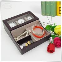 Wholesale &Travel Organizer multifunctional watch tray box from china suppliers