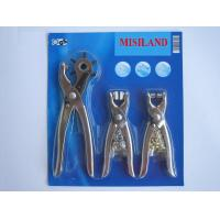 Buy cheap -Punch pliers 3 pcs Punch plier set from wholesalers