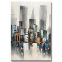 Buy cheap Wall Art Decor Abstract Canvas Knife Oil Painting For Kids House from wholesalers