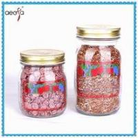 Buy cheap High quality mason glass jar with tin cap from wholesalers