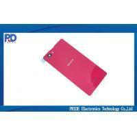 Buy cheap 4.3 inch Red Back Cover Case / Door Cover For Sony Xperia Z1 MIni from wholesalers