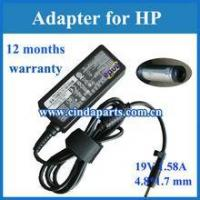 Buy cheap Brand new laptop charger mini adapter for HP 30W 19V 1.58A from wholesalers