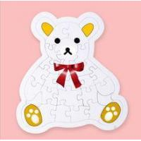 China colorful bear handmade paper jigsaw puzzle wholesale on sale