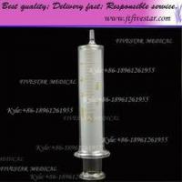 Wholesale Small scale glass tip syringes 20ml. Glass Syringe With Glass Luer Slip Tip from china suppliers