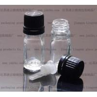 Buy cheap 5ml transparent Essential oil bottle5ml transparent glass bottles from wholesalers
