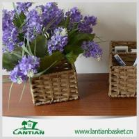 Buy cheap on sale natural color willow wicker storage basket from wholesalers
