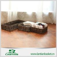 Buy cheap Best sale Household decoration wicker storage basket from wholesalers