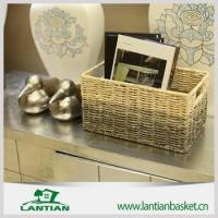 Buy cheap Best selling products wicker storage basket from wholesalers
