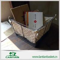 Buy cheap Popular handmade customized antique wire basket from wholesalers