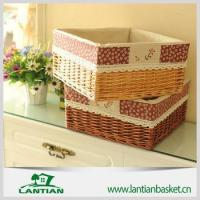 Wholesale Beautiful Eco-friendly cheap price wicker storage basket from china suppliers