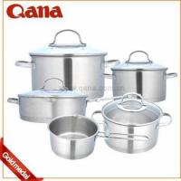 Buy cheap Induction Stainless steel handle cookware pots from wholesalers