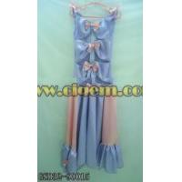 Buy cheap Apparel Processing Services Elegant satin frock product