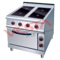 China JUSTA(237) Product  Electric 4 Ceramic Hob With Electric Oven on sale
