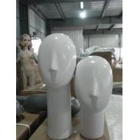 Buy cheap new style fashion female head fiberglass mannequin for hat ,wigs from wholesalers
