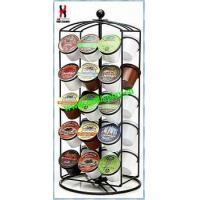 Revoling K-Cup Coffee Carousel Rack Powder Coated