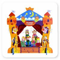 Buy cheap Puppet Theatre Castle(puppets not included) from wholesalers