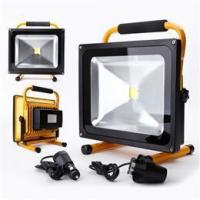 New 50w Portable White LED Rechargeable Flood Light IP65 Garden Light from UK Manufactures