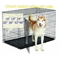 Buy cheap 18 19 24 30 36 42 48 pet cage from wholesalers