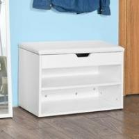 New wooden popular furniture double-deck simple design shoes cabinet Manufactures