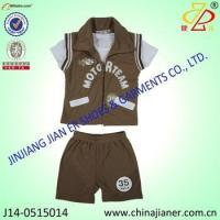 Child multi-pcs suit set hot sell summer kids clothes for boy clothes to kids Manufactures