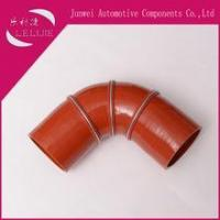 Buy cheap 4 ply Polyester steel wire Reinforced 90 Degree Elbow Coolant Silicone Rubber Hose from wholesalers