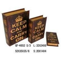 Buy cheap Book Box classical printing gift book box from wholesalers