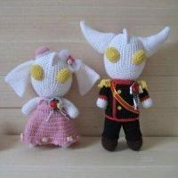 Buy cheap Crochet Doll Toy, Made of 100% Mercerized Cotton Thread from wholesalers