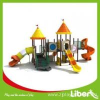 Buy cheap China Newest Design Plastic Jungle Gym/Outdoor Playground for Primary Schools with Swing Set from wholesalers