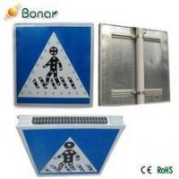 China 2015 Customizable Road Safety 3M Reflector Solar Led Traffic Signs on sale