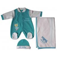 Buy cheap Categories Baby long sleeve & emb overall + emb.blanket + cap 3pcs set Style No.FOB3-11596 from wholesalers