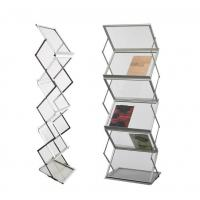 Buy cheap Acrylic Floding Brochure Stand from wholesalers