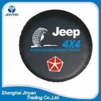 OEM China 4x4 car accessories 15 inches tire cover /spare tire cover/steel spare tire cover