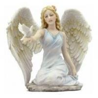 Christmas ornament resin angel statue