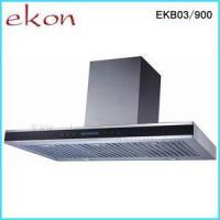 Buy cheap 90cm Stainless Steel Finger Touch Baffle Filters Chimney Hood EKB03/900 from wholesalers