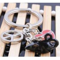 Buy cheap top selling cute mouse shaped keyrings key ring from wholesalers