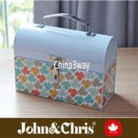Metal dome lunch box for kids