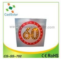 China Solar LED traffic sign CS-SS-702 on sale