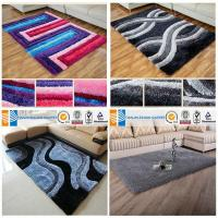 Buy cheap Polyester shaggy silk carpet from wholesalers