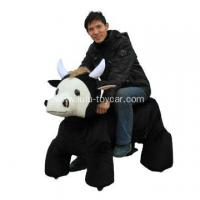 Buy cheap big size plush animal ox from wholesalers