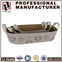 Wholesale New Basket Leather pu design custom car basket in bulk from china suppliers