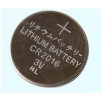 Buy cheap CR Lithium Cell 3.0v CR2016 Button Cell from wholesalers