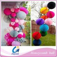 Wholesale decoration party honeycomb paper ball from china suppliers