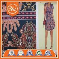 Buy cheap pattern summer casual dress of chiffon fabric for beach party ladies summer from wholesalers