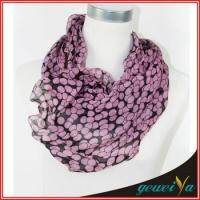 Buy cheap Curve Side Laciness Scarf from wholesalers