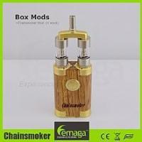 Buy cheap Chainsmoker wooden box Mod from wholesalers