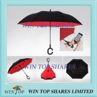 Buy cheap Special umbrella Innovative wind resistant hand free reverse Umbrella from wholesalers