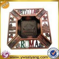 Buy cheap Excellent Quality Souvenir Custom Roma Ashtrays Barcelona Cheap Ashtray Metal Ashtray from wholesalers