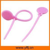 Buy cheap silicone tie Mini take-away silicone easy tie bands product