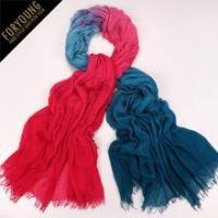 Buy cheap Viscose Scaves two-tone pattern 100% modal scarf from wholesalers